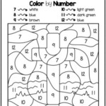 Bible Color By Number Worksheets For Sunday School Or