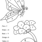 Butterfly Color By Numbers By Purple Hippo Monster TpT