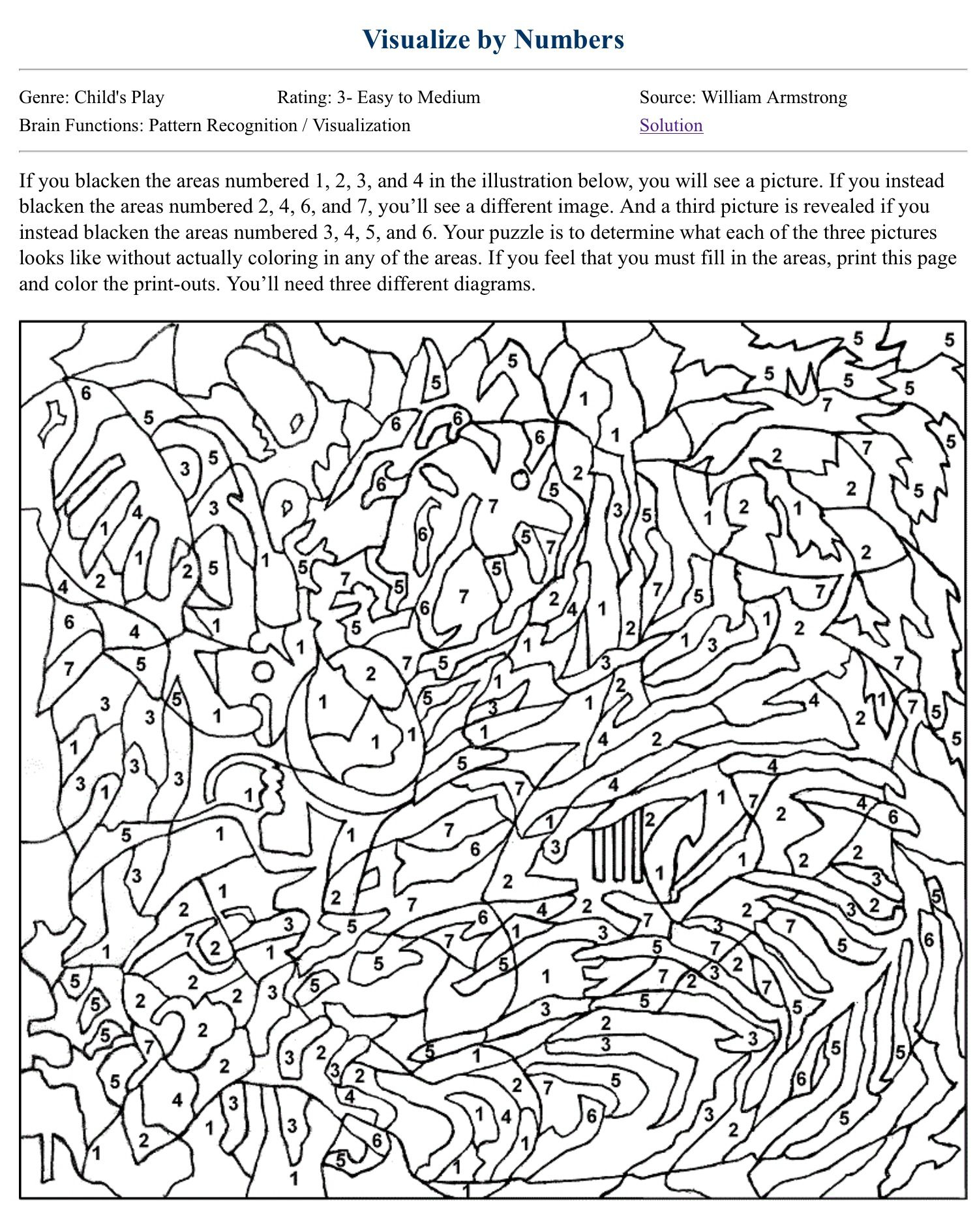 Color By Number Coloring Books Coloring Pages