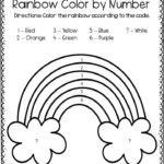 Color By Number Rainbow The Keeper Of The Memories