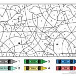 Color By Numbers 2 Tim s Printables