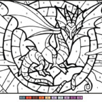 Dragon Color By Number Coloring Play Free Coloring Game