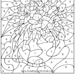Easter Basket Color By Letter Page Fall Coloring Pages