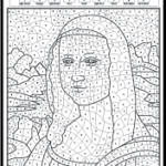 Famous Paintings Coloring Worksheets That Will Inspire Any