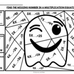 Halloween Math 3rd Grade Color By Number By Satsumas And