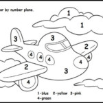Math Coloring Pages For Kids Numbers Preschool Color