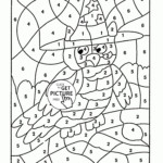 New Multiplication Color By Number Pdf Fun Worksheet