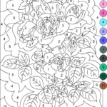 Nicole s Free Coloring Pages COLOR BY NUMBER Adult