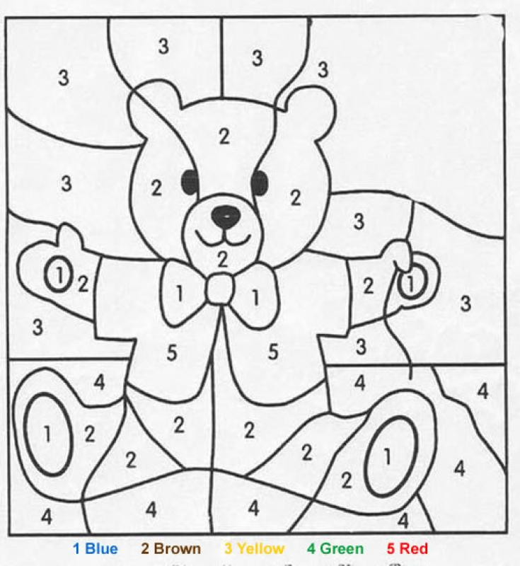 Teddy Bear Coloring Pages Hellokids