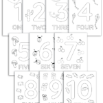 1 10 Printable Numbers Coloring Pages YES We Made This