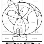 10 Best Free Printable Multiplication Coloring Worksheets