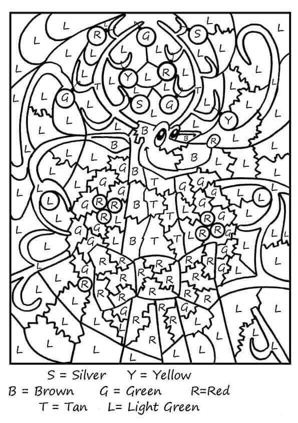 30 Free Reindeer Coloring Pages Printable ScribbleFun