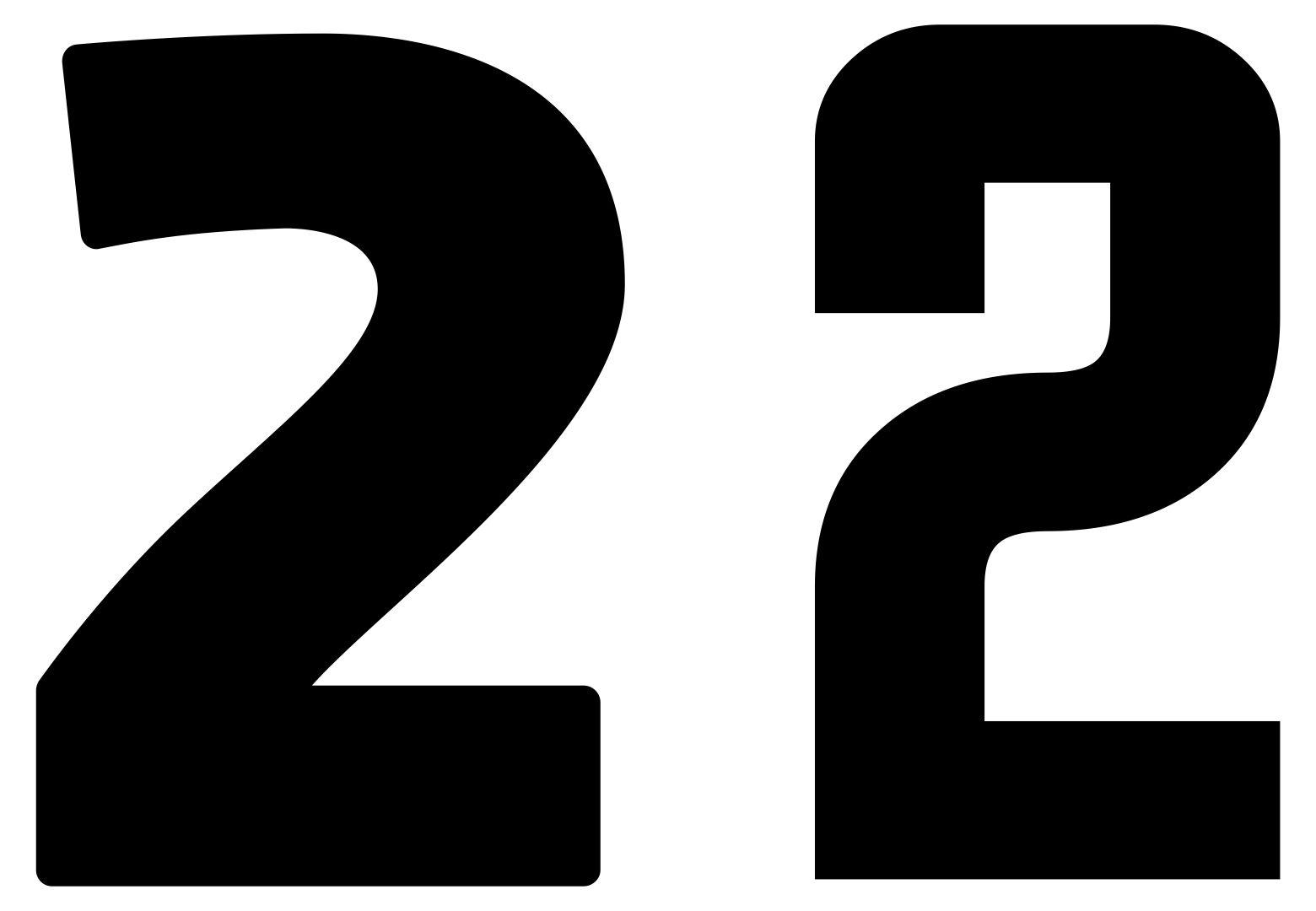 7 Best Printable Number 2 Printablee
