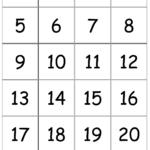 7 Best Printable Number Flash Cards 1 100 Printablee