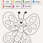 8 Exciting Butterfly Color By Number Worksheets