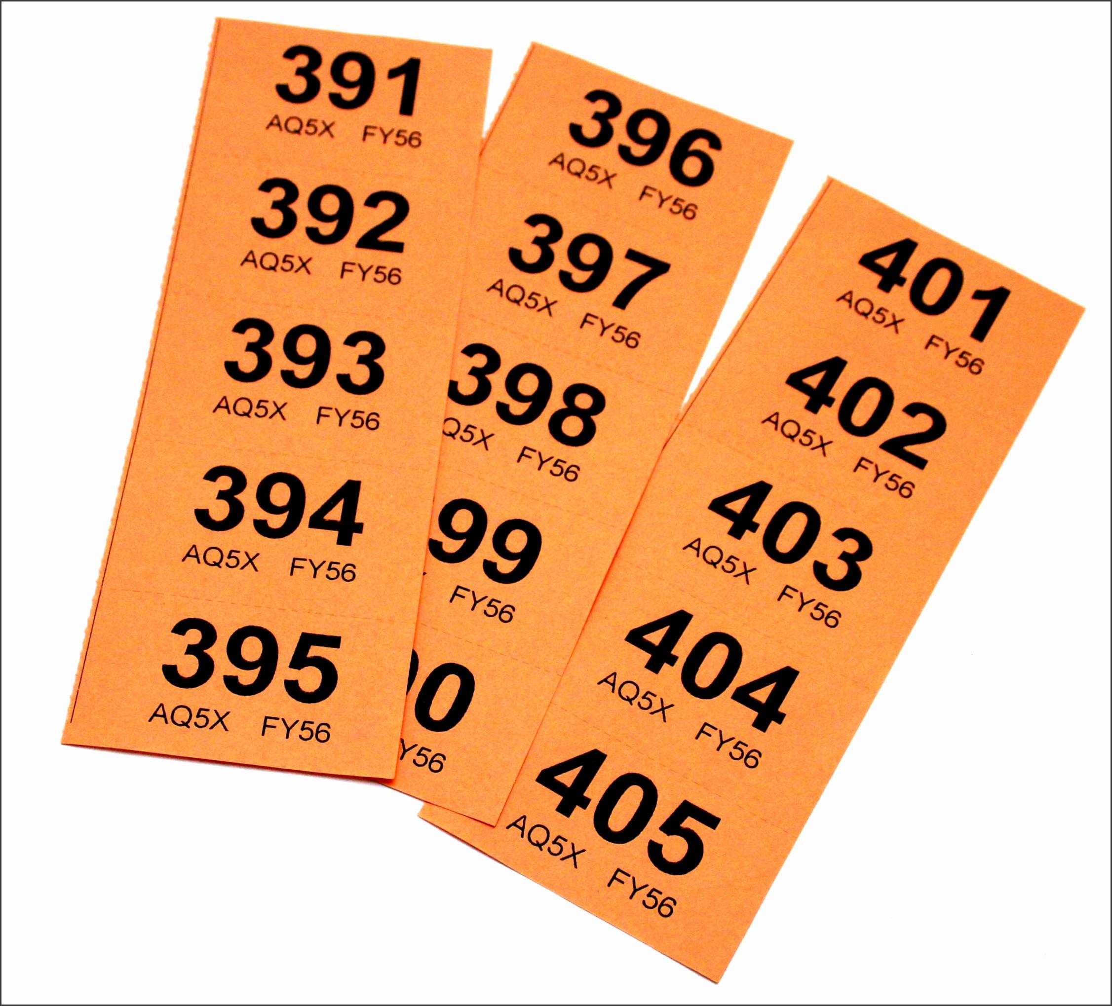 8 Raffle Ticket Draft SampleTemplatess SampleTemplatess