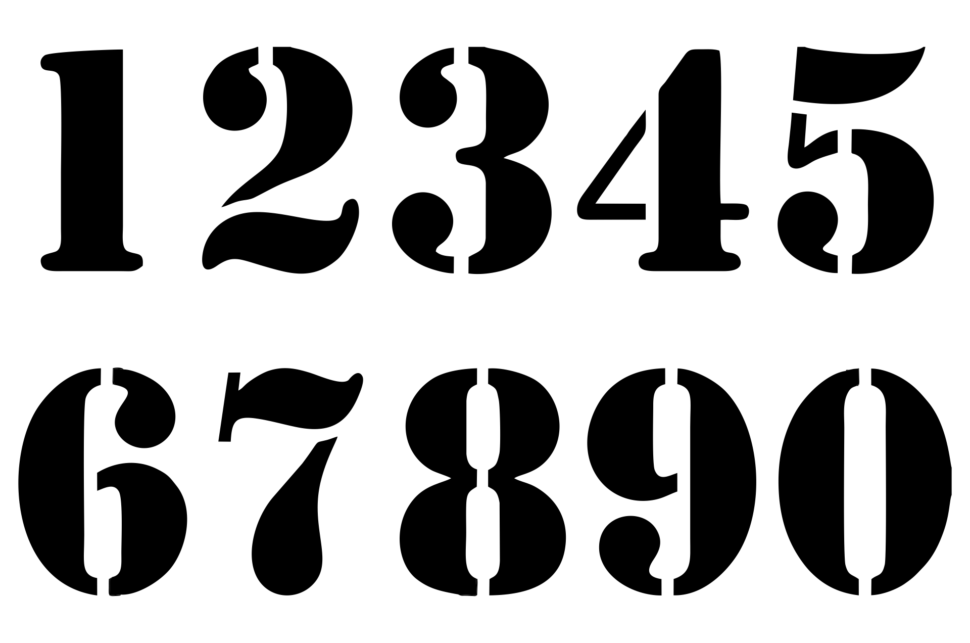 9 Best Number 3 Printable Templates Printablee