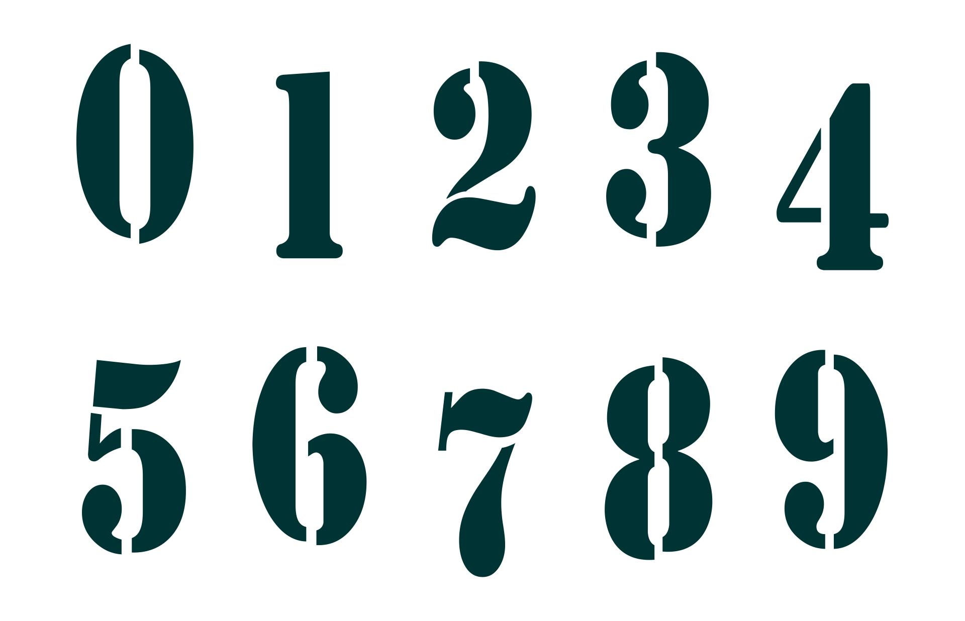 9 Best Number 3 Stencils Printable Printablee