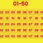 9 Best Printable Numbers 1 50 Printablee