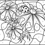 Adult Color By Numbers Best Coloring Pages For Kids