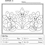 Associative Property Of Addition Free 1st Grade Worksheet