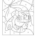 Color By Number For Kids Printables These Pokemon Free