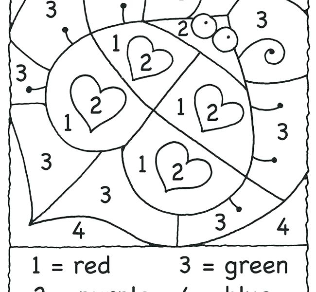 Color By Number Halloween Coloring Pages At GetColorings