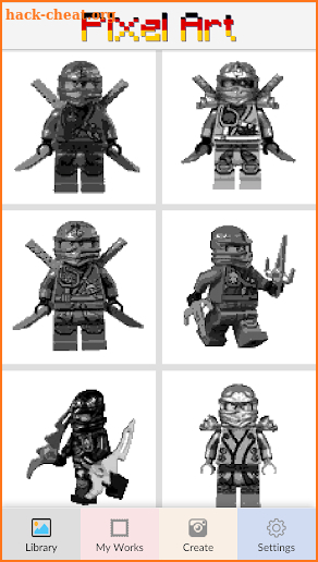 Color By Number Lego Ninjago Pixel Art Hacks Tips