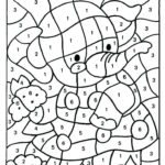 Color By Number Printable Pages Coloring Pages Numbers