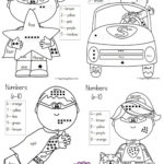 Color By Number Superhero Coloring Sheets Using Number
