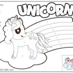 Color by number unicorn printable Free Kids Crafts