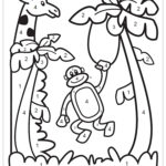 Coloring Page Color By Number Animal Free Printable
