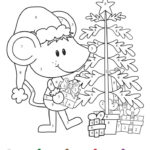 Coloring Pages Christmas Addition Math Activity