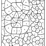 Coloring Pages Color By Numbers Coloring Page Number