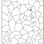 Coloring Pages Colouring By Numbers For Children Free