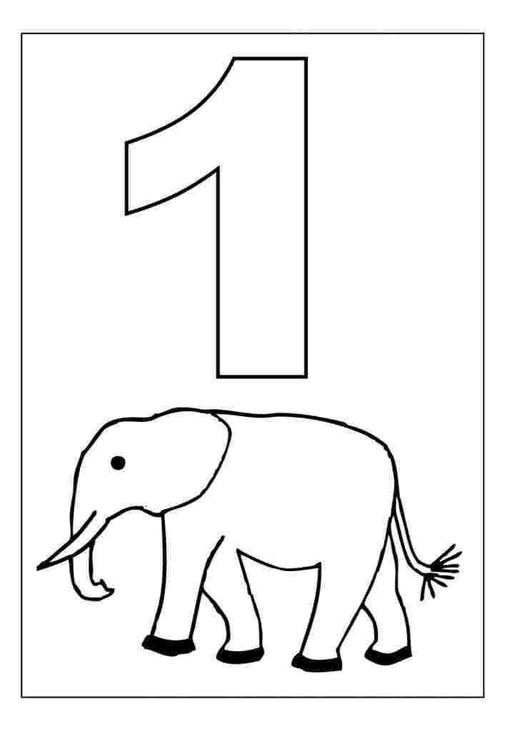 Coloring Pages For Toddlers Numbers Stackbookmarks info