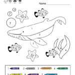 Coloring Pages Free Printable Color By Number Worksheets