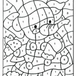 Coloring Pages With Number Codes At GetColorings