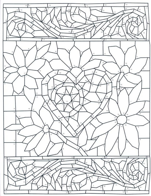Colour By Number Coloring Pages Coloring Home