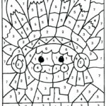 Difficult Color By Number Coloring Pages For Adults At