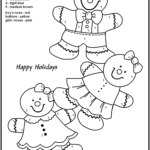 Easy Color By Number For Preschool And Kindergarten