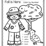 Fall Is Here Color By Number Printables 3 Pages Fall