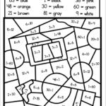 Free Color By Multiplication Code Worksheet Madebyteachers