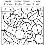 Free Color By Number For Earth Day Earth Day Coloring