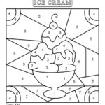 Free Color By Number Worksheets Cool2bKids