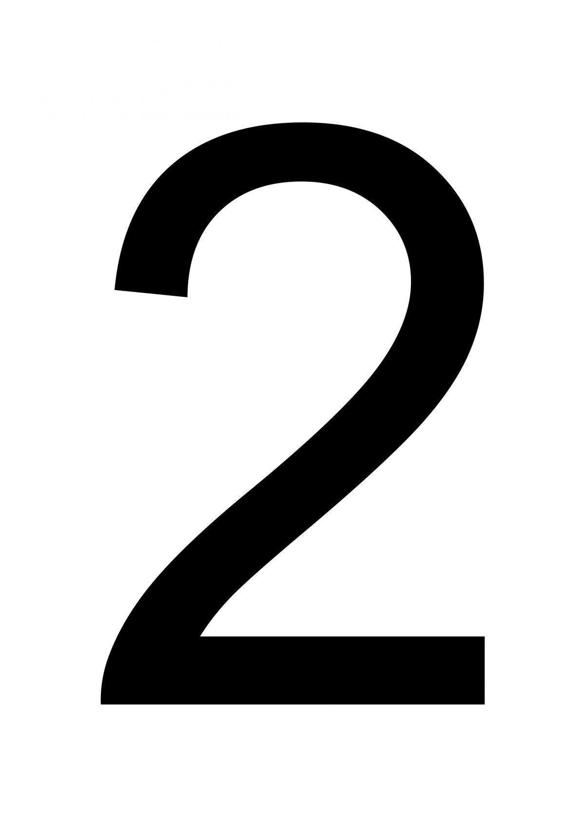 Free Download Printable Number 2 Free Printables In 2020