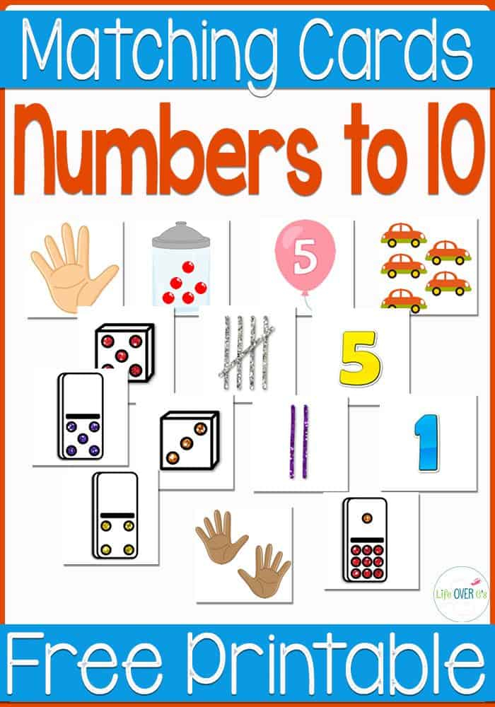 Free Number Recognition Printable Life Over C s