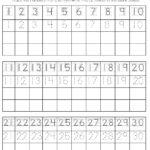 Free Printable Kindergarten Number Worksheets Activity