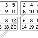Free Printable Number Bingo Cards 1 30 Printable Bingo Cards