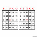 Free Printable Number Bingo Cards 1 75 Printable Bingo Cards